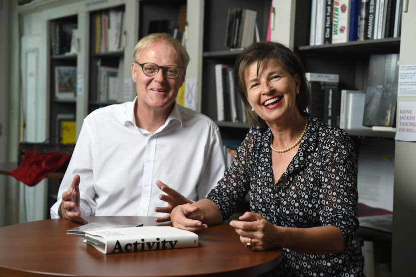 Pierre Walther und Catherine von Graffenried sind fast4meter