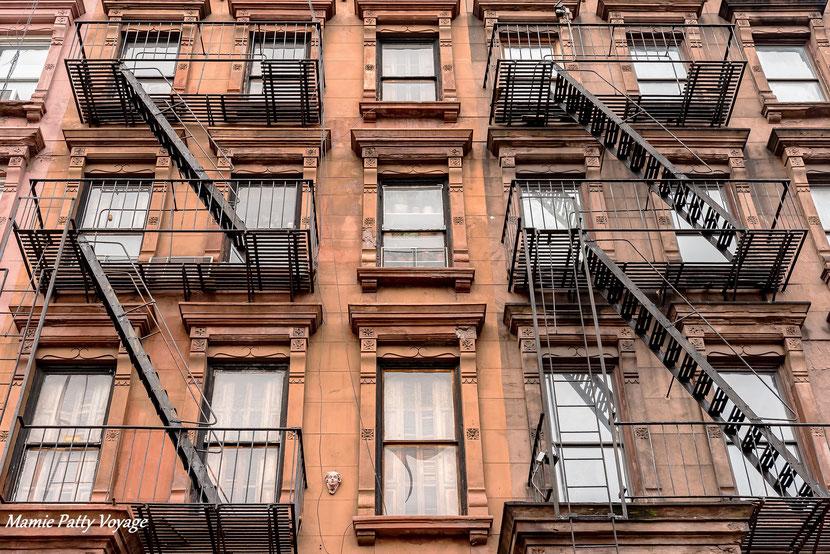 Brownstone in Harlem, New York