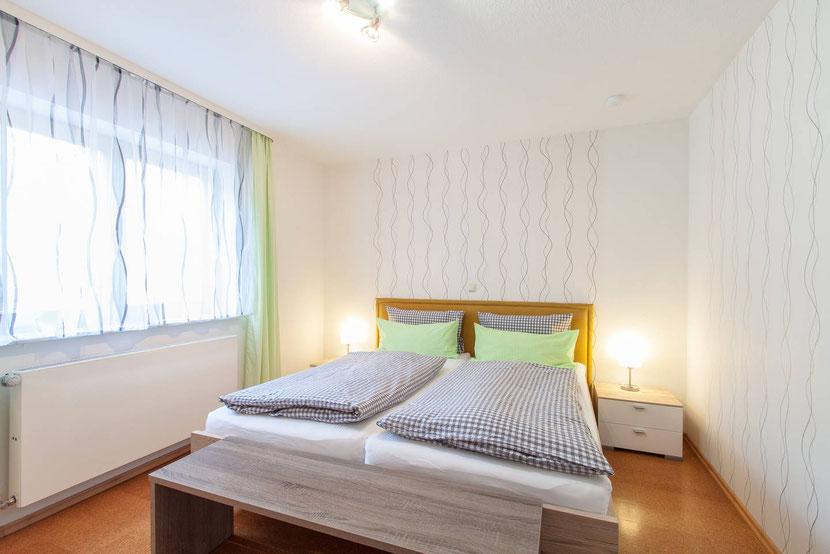 Schlafzimmer I, Doppelbett 1,8m * 2m