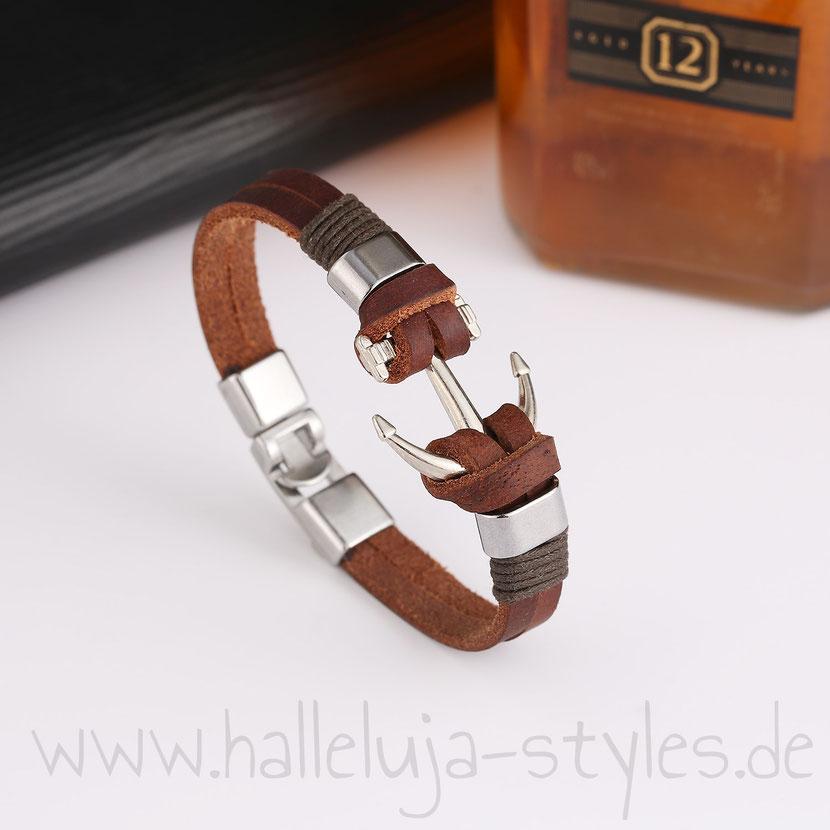 Christlicher-Schmuck-und-Geschenke-Halleluja-Styles-Armband-Anker