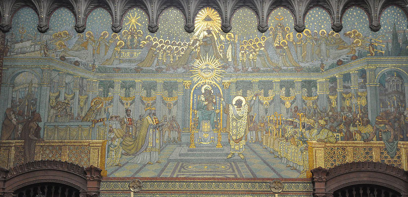 Le concile d'Ephèse tenu en 431convoqué par l'empereur romain de Constantinople Théodose II et qui fixe le dogme de la Vierge Marie « Theotokos - Mère de Dieu » va aussi condamner le Millénarisme (peu après La Cité de Dieu et la mort d'Augustin).