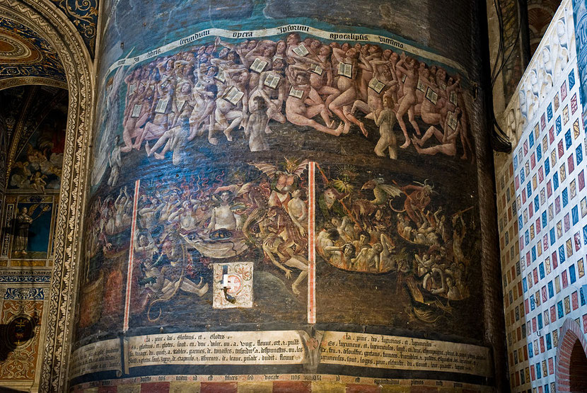 L'enfer chez les catholiques. Cathédrale sainte Cécile à Albi. L'enfer est une doctrine enseignée dans la plupart des religions, qu'en dit la Bible?