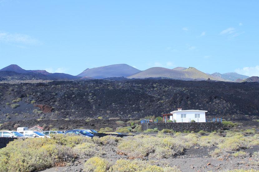 Die Vulkane an der Südspitze der Insel ff.