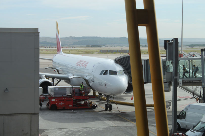 Unsere Maschine-Iberia Express.
