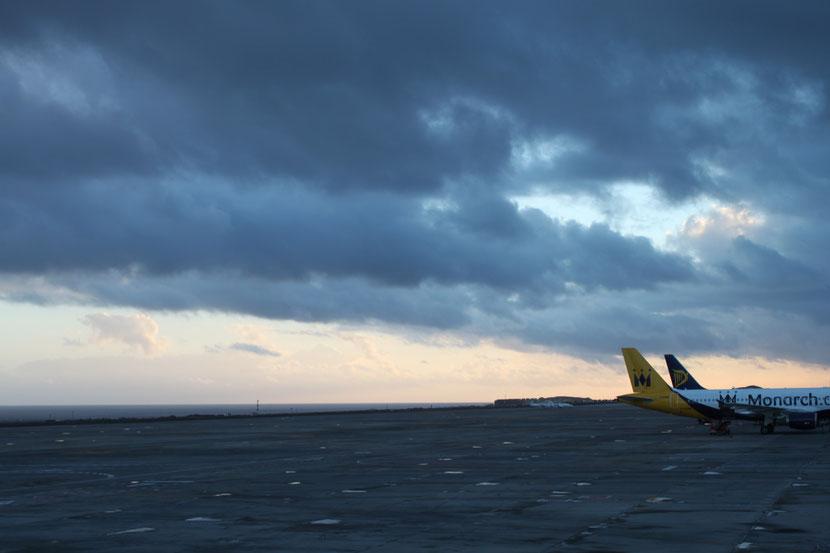 Flughafen Teneriffa.