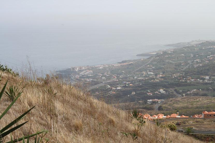 Blick auf Los Cancajos.unser Urlaubsort.