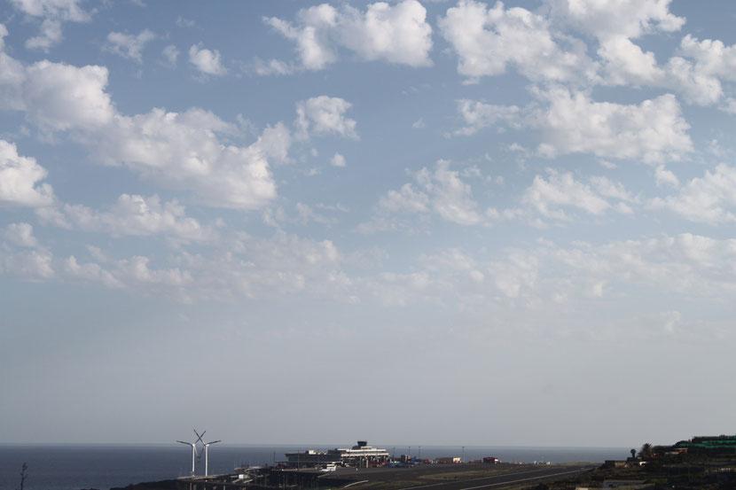 Flughafen La Palma.