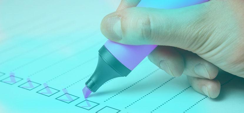 Nichts vergessen! Bei Konzept und Marketing Plan. Jetzt gratis Checklisten herunterladen!