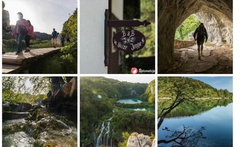 Foto Plitvice meren reismeisje