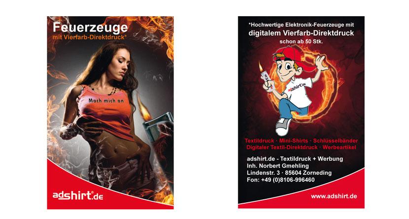 Visitenkarten-Gestaltung und Visitenkarten-Druck für Unternehmen in Ebersberg