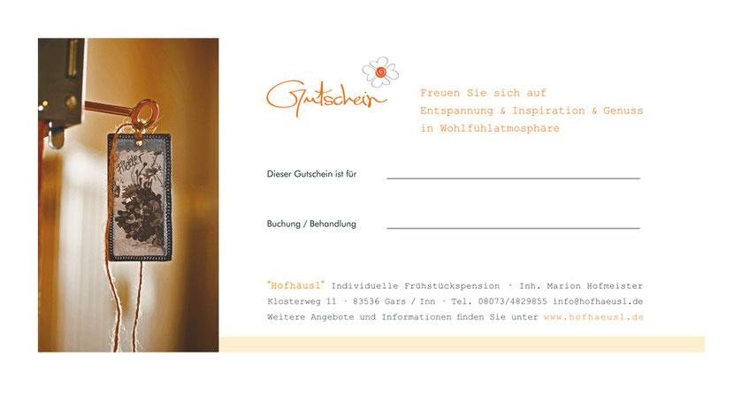 Kartengestaltung und Kartendruck für Ferienwohnungen in Ebersberg
