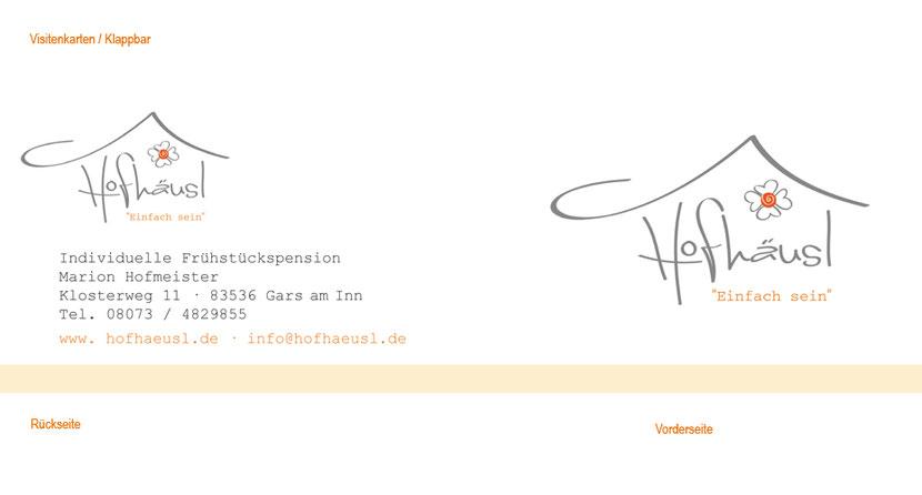 Visitenkarten-Gestaltung und Visitenkarten-Druck in Freising