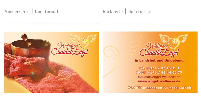Visitenkarten-Gestaltung und Visitenkarten-Druck in Landshut