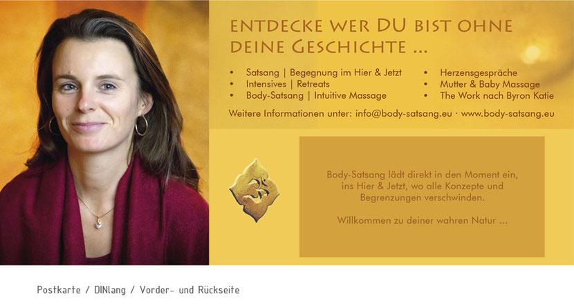 Kartengestaltung und Kartendruck für Therapeuten in Ebersberg