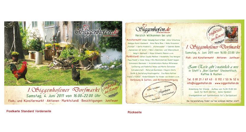 Postkartengestaltung und Postkartendruck in Ebersberg