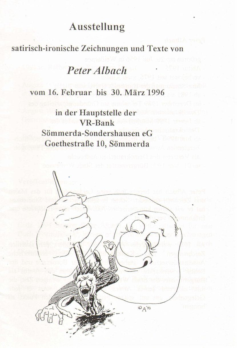 einladung-ausstellung-vr-bank-sömmerda-sondershausen-eG-peter-albach