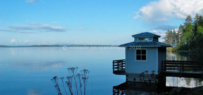 Le calme des lacs finlandais