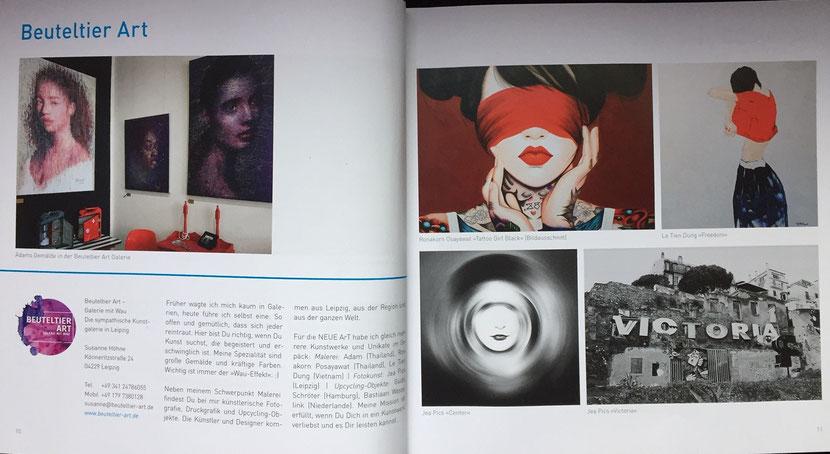 Meine Doppelseite im Katalog