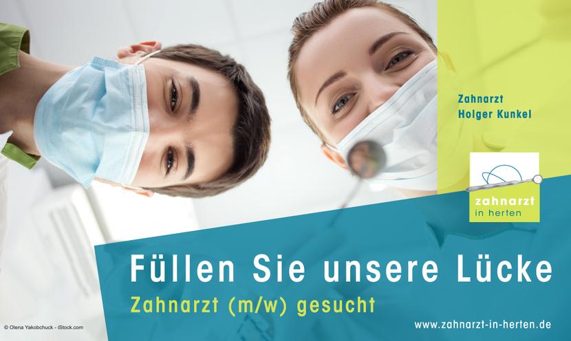 Stellenangebot Zahnarzt (w/m) - Holger Kunkel
