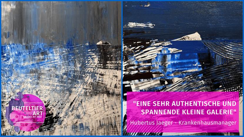 Hubertus Jaeger, Krankenhausmanager aus Leipzig, über seine Erfahrung mit der Beuteltier Art Galerie