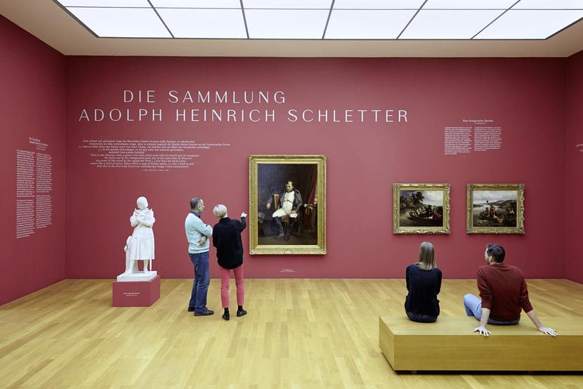 Sammlung der alten Meister im Museum der bildenden Künste Leipzig FOTO: PUNCTUM / Alexander Schmidt © Museum der bildenden Künste Leipzig