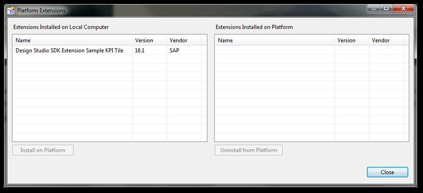 Platform Extensions