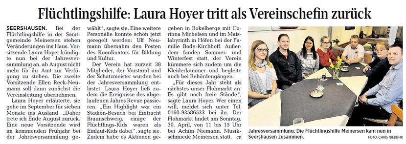 Aller-Zeitung vom 29.3.2017