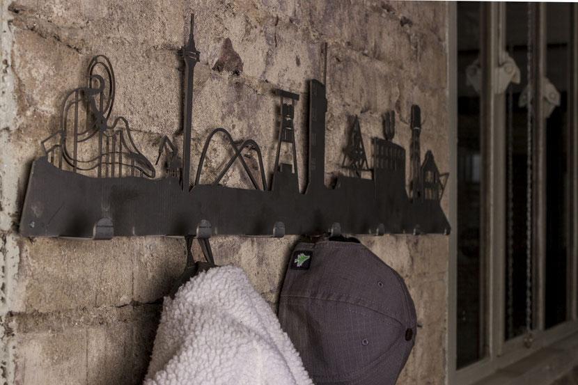 Ruhrgebiet Skyline als Designer Gaderobe
