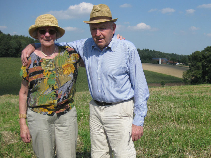 Karl trat in die Fußstapfen seiner Mutter und versorgte ein Leben lang als Münchner Gemüsehändler seine Kunden mit frischer Ware