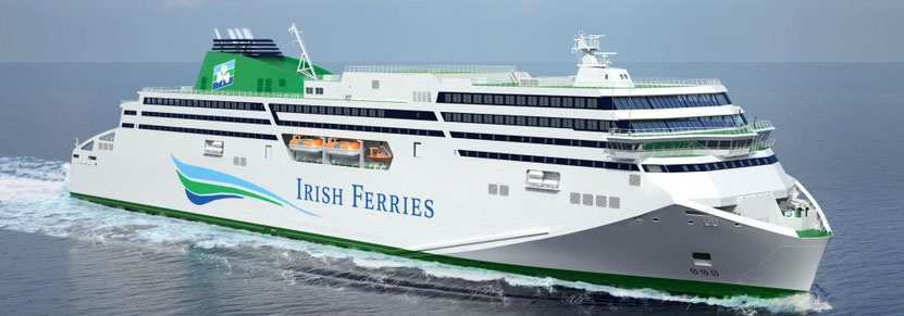 After being delivered of MV W.B. YEATS, Irish Ferries will be delivered of a second brand-new ship in 2020