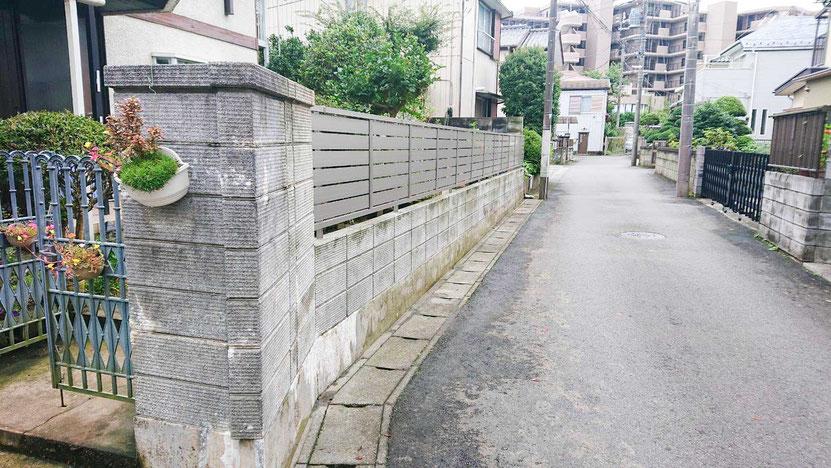 千葉市緑区の外構工事完了