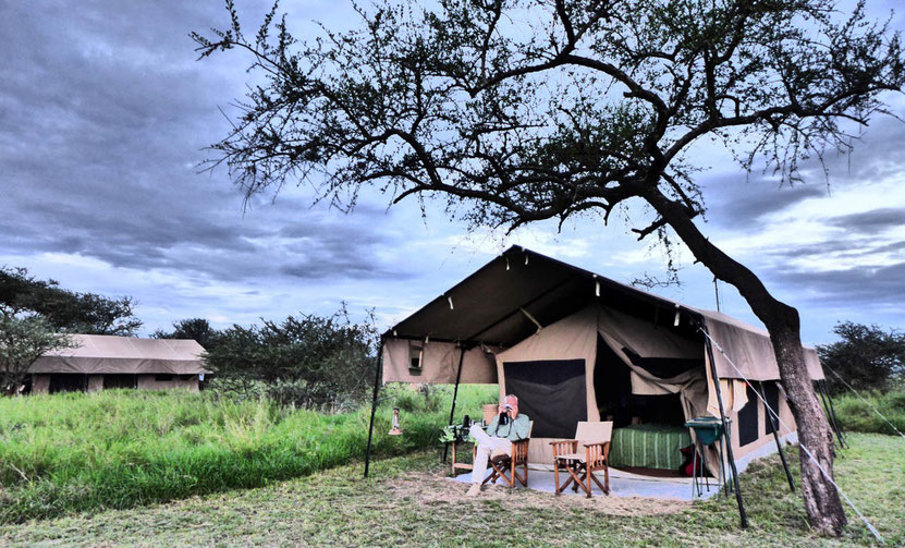 Kati Kati Tented Camp Tanzania serengeti safari zelt camp