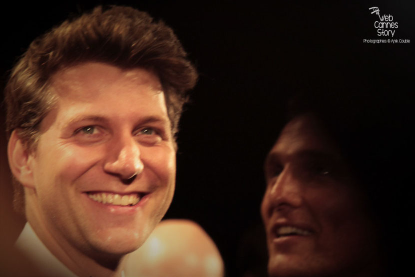 "Jeff Nichols, lors de la projection de son  film ""Mud"" - Festival de Cannes 2012 - Photo  © Anik Couble"