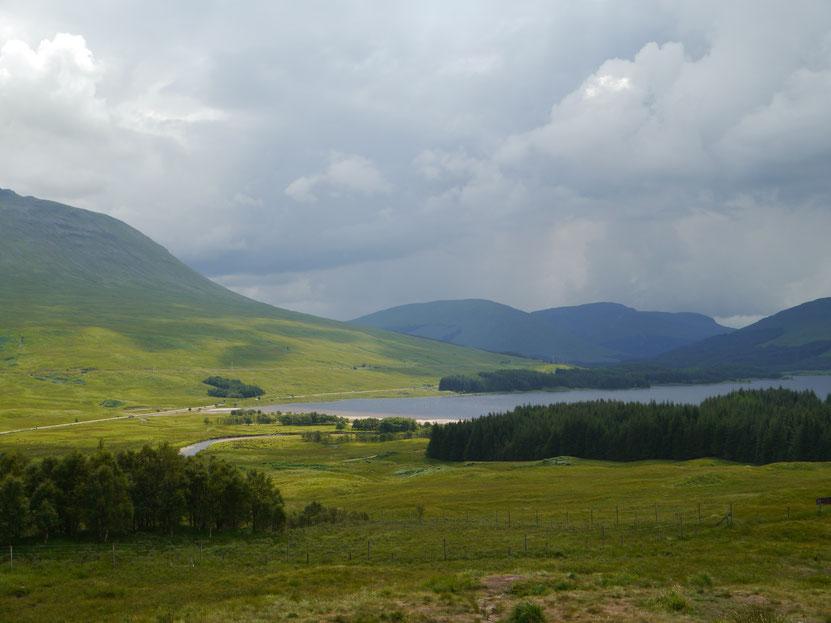 Aussicht auf den Loch Tulla