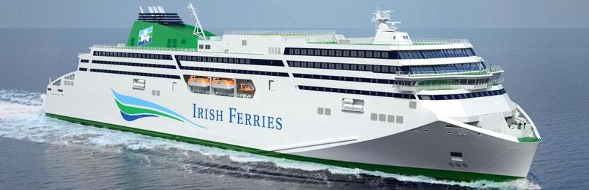 Après avoir réceptionné le MV WB YEATS, Irish Ferries réceptionnera un second navire neuf en 2020