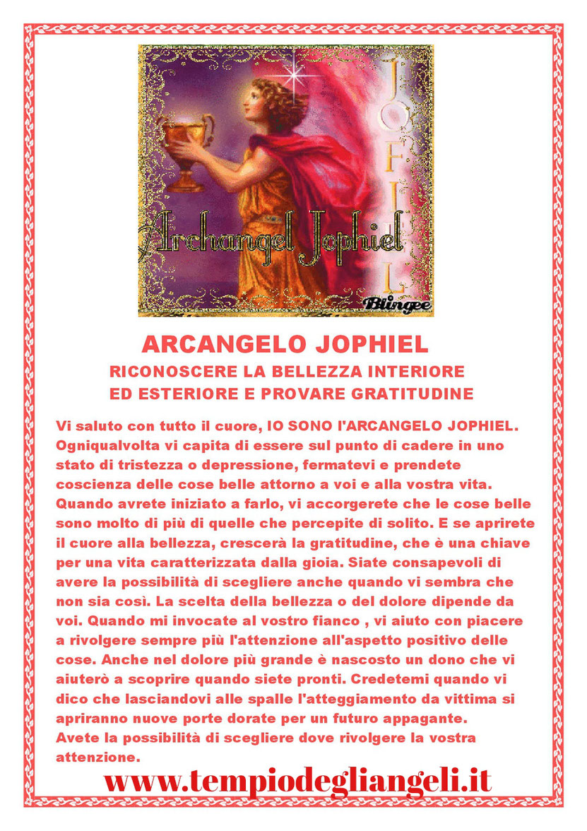 """Arcangelo Jophiel 💖❤ Queste schede le ho redatte io e sono tratte dal libro di Isabelle Von Fallois """"Il potere di guarigione degli Angeli """""""