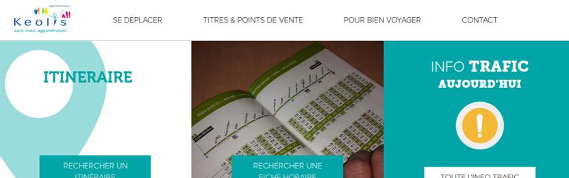 Capture d'écran du site internet du réseau KSMA.