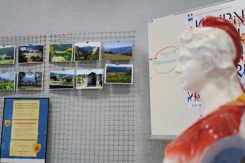 Exposition des Photos lors des JEP