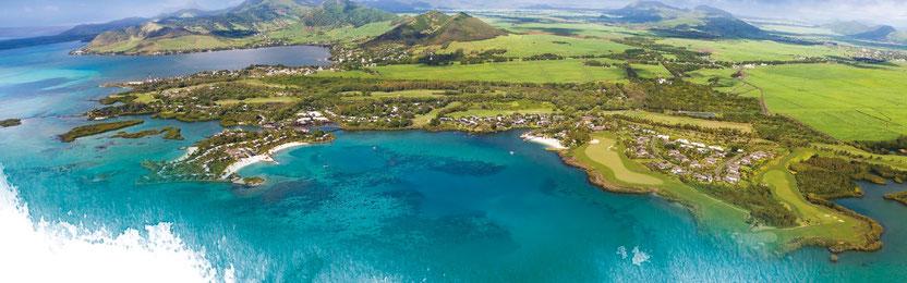 ANAHITA ILE MAURICE : UN COMPLEXE LUXE SUR GOLF à l'île aux CERFS
