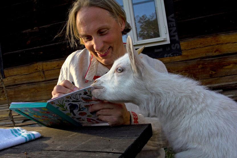 Užrašų knygelė - ypač skanus patiekalas / Foto: Kristina Stalnionytė