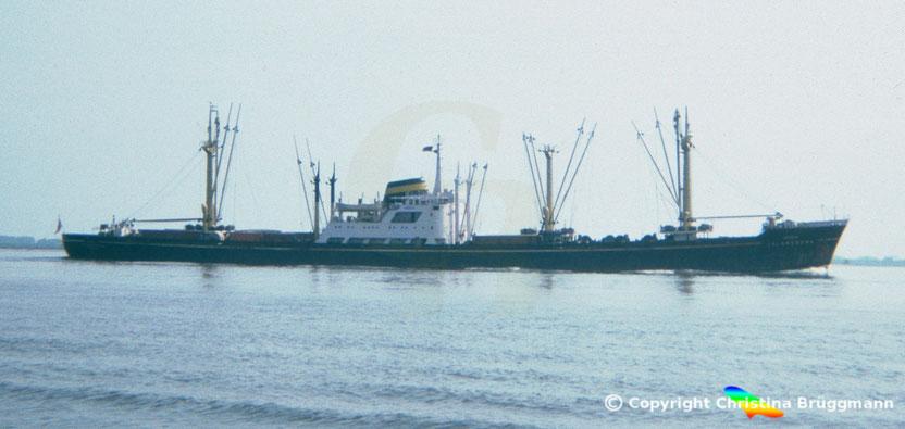 Indischer Stückgutfrachter JALAKRISHNA