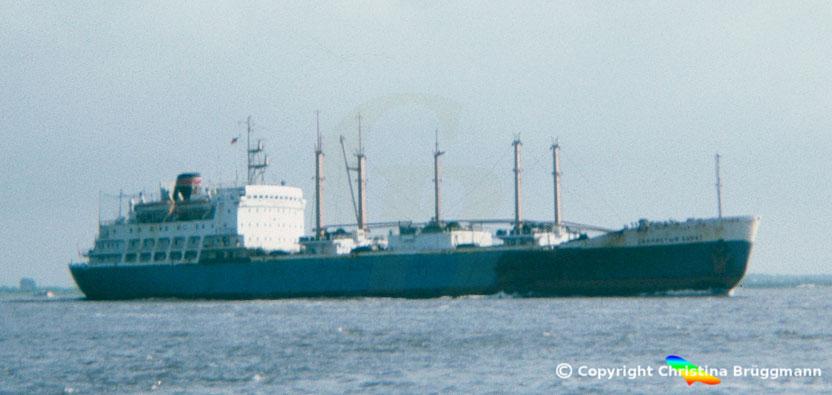 "UdSSR Fischtransporter Typ Polar ""SKALISTYL BEREG"" 1984"
