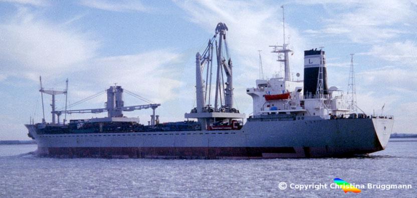 General Cargo LASER SANTIAGO, Elbe 1996