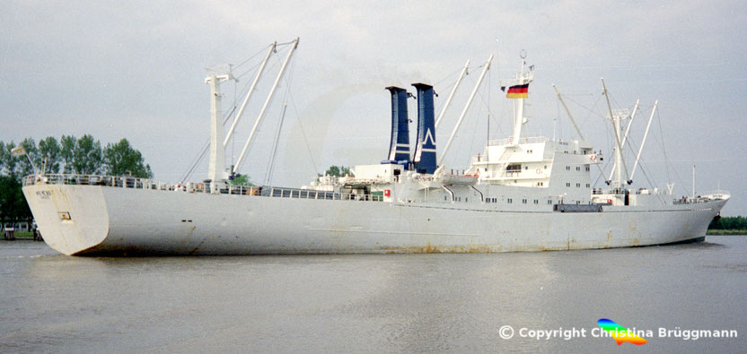 Kühlschiff FRIO BAHIA, ex POLAR URUGUAY