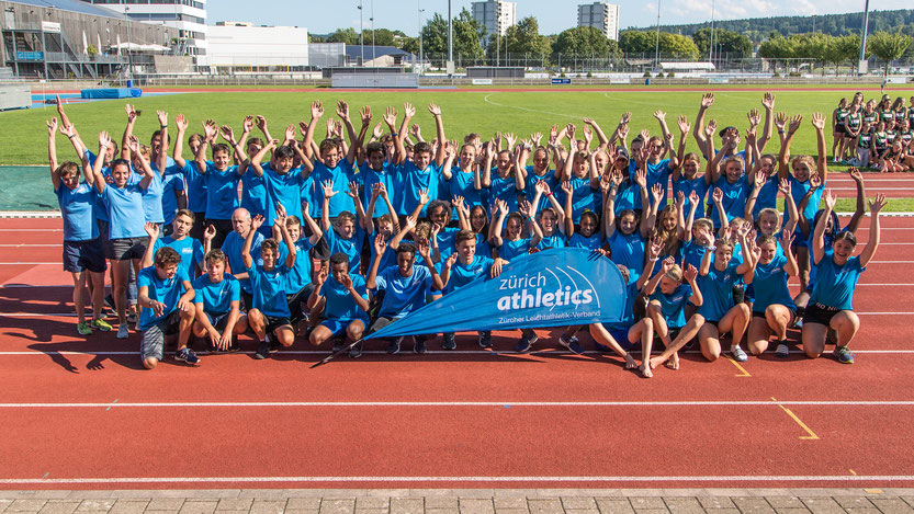 zürich athletics Team am Kantonewettkampf 2019   Foto: Ulf Schiller