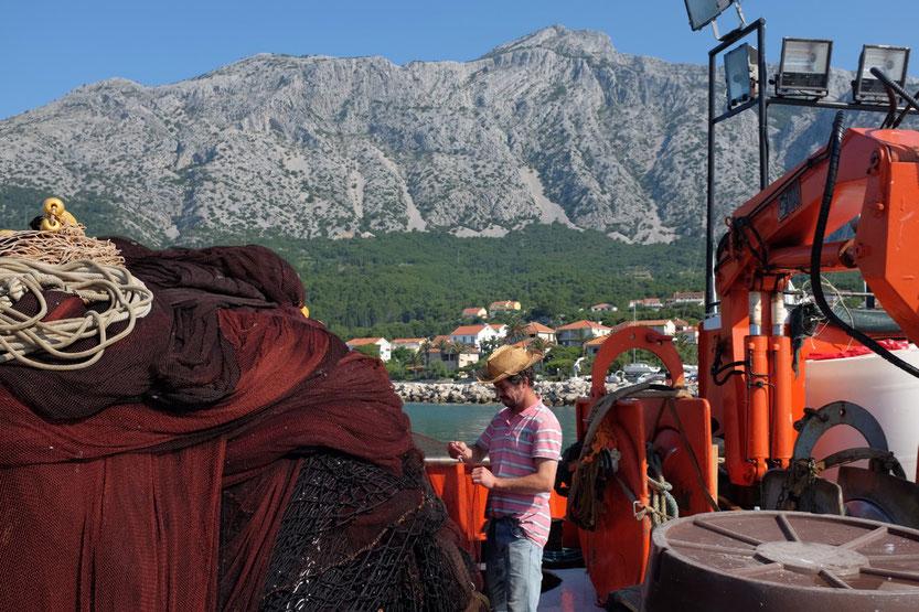 Fischerei Orebic Peljesac Insel Kroatien