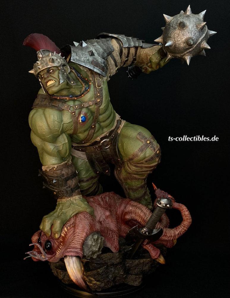 Gladiator Hulk Marvel Maquette 66cm Statue Sideshow
