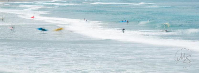 Surfer, St.Clair Beach, Dunedin, Zen Fotogallerie, Martina Sandkuehler