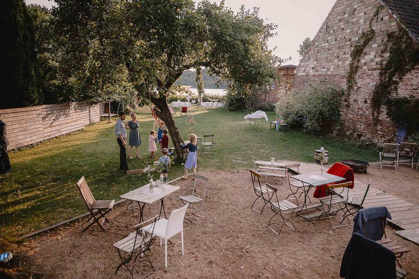 Terrasse Haus am Bauernsee in Dobbrikow