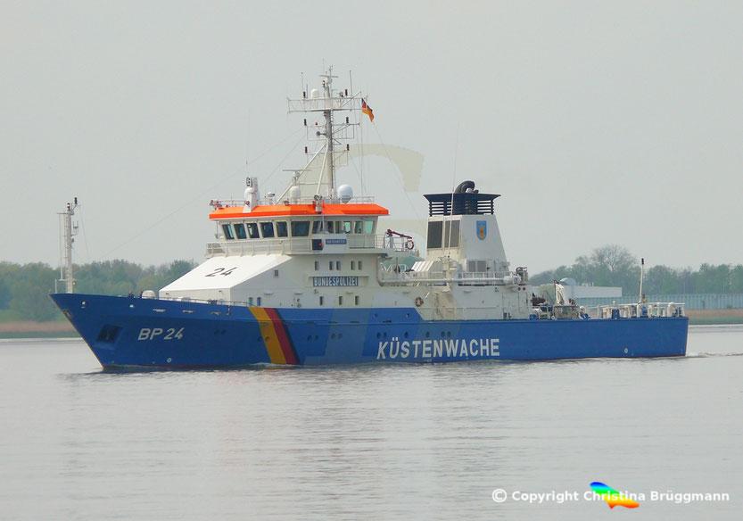 Küstenwachboot BP 24 BAD BRAMSTEDT